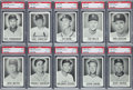 Baseball Cards:Sets, 1960 Leaf Baseball Mid To High Grade Complete Set (144) Plus Grant Variation. ...