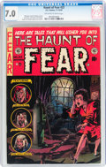Golden Age (1938-1955):Horror, Haunt of Fear #22 (EC, 1953) CGC FN/VF 7.0 Off-white to whitepages....