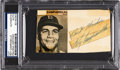 Baseball Collectibles:Others, Roy Campanella Signed Cut. ...