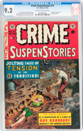 Golden Age (1938-1955):Crime, Crime SuspenStories #15 (EC, 1953) CGC NM- 9.2 Off-white to white pages....