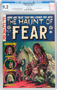 Haunt of Fear #14 (EC, 1952) CGC NM- 9.2 White pages
