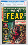 Golden Age (1938-1955):Horror, Haunt of Fear #18 (EC, 1953) CGC VF/NM 9.0 Off-white to whitepages....