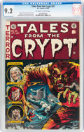 Golden Age (1938-1955):Horror, Tales From the Crypt #35 (EC, 1953) CGC NM- 9.2 Off-white to whitepages....