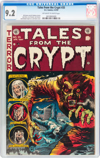 Tales From the Crypt #35 (EC, 1953) CGC NM- 9.2 Off-white to white pages
