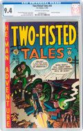 Golden Age (1938-1955):War, Two-Fisted Tales #25 (EC, 1952) CGC NM 9.4 Off-white to whitepages....