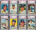 Baseball Cards:Lots, 1952 Topps Baseball Middle Series PSA NM 7 Collection (20). ...