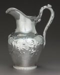 A WILLIAM GALE & SON SILVER PITCHER, New York, New York, 1862 Marks: W. GALE & SON, NEW YORK, 925, STERLING