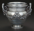 AN H. FRES & CIE FRENCH SILVER WINE COOLER, Paris, France, circa 1896 Marks: (Minerva), (H. Fres & Cie)...