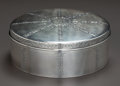 Silver Holloware, American:Boxes, A TIFFANY & CO. SILVER BISCUIT BOX, New York, New York, circa1921-1947. Marks: TIFFANY & CO., 19988, A MAKERS, 11040,STE...