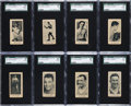Boxing Cards:General, 1927 E211 York Caramel Boxers SGC Graded Collection (8). ...