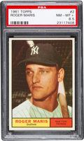 Baseball Cards:Singles (1960-1969), 1961 Topps Roger Maris #2 PSA NM-MT+ 8.5....