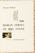 Books:Literature 1900-up, [Featured Lot] Tennessee Williams. SIGNED/LIMITED. The RomanSpring of Mrs. Stone. New Directions, [1950]. First edi...