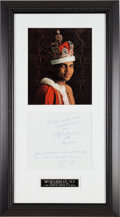 Boxing Collectibles:Autographs, 1985 Muhammad Ali Personal Handwritten Letter. ...