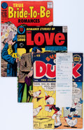 Golden Age (1938-1955):Miscellaneous, Harvey Miscellaneous Golden to Silver Age Office Use File Copy Comics Short Box Group (Harvey, 1950s-60s) Condition: Average V...