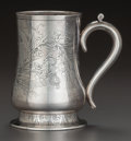Silver Holloware, American:Cups, A GORHAM SILVER HANDLED CUP, Providence, Rhode Island, circa 1885.Marks: (lion-anchor-G), STERLING, 45, (date mark). 5-...