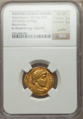 Ancients:Roman Imperial, Ancients: Valentinian I (AD 364-375). AV solidus (4.05 gm). ...
