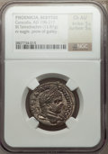 Ancients:Roman Provincial , Ancients: PHOENICIA. Berytus. Caracalla (AD 198-217). ARtetradrachm (12.87 gm)....