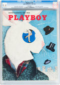 Magazines:Miscellaneous, Playboy #5 (HMH Publishing, 1954) CGC NM 9.4 White pages....