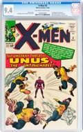 Silver Age (1956-1969):Superhero, X-Men #8 (Marvel, 1964) CGC NM 9.4 Off-white to white pages....