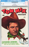 Golden Age (1938-1955):Western, Tom Mix Western #4 Vancouver pedigree (Fawcett Publications, 1948)CGC NM+ 9.6 White pages....