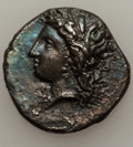 Ancients:Greek, Ancients: LUCANIA. Metapontum. Ca. 330-280 BC. AR stater (7.39gm)....