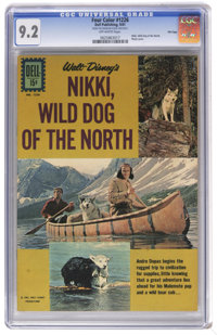 Four Color #1226 Nikki, Wild Dog of the North - File Copy (Dell, 1961) CGC NM- 9.2 Off-white pages. Photo cover. Overstr...