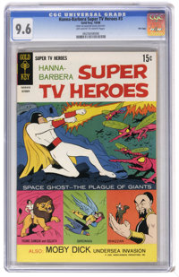 Hanna-Barbera Super TV Heroes #3 File Copy (Gold Key, 1968) CGC NM+ 9.6 Off-white to white pages. Space Ghost cover and...
