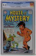 Silver Age (1956-1969):Science Fiction, House of Mystery #143 (DC, 1964) CGC NM- 9.2 Off-white to whitepages. J'onn J'onzz, Manhunter from Mars and Zook feature be...