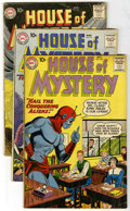 Silver Age (1956-1969):Horror, House of Mystery Group (DC, 1959-75). Scary selection of House ofMystery, including issues #89, 96, 103, 104, 106, 114 ... (Total:12 Comic Books)