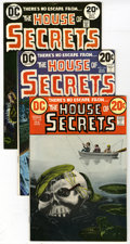 Bronze Age (1970-1979):Horror, House of Secrets Group (DC, 19) Condition: Average FN/VF. Groupcontaining seven issues of House of Secrets includes #10... (Total:7)