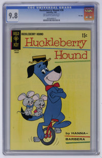 Huckleberry Hound #36 File Copy (Gold Key, 1969) CGC NM/MT 9.8 Off-white to white pages. This issue is tied for the high...