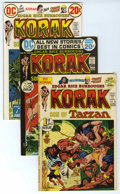 Bronze Age (1970-1979):Miscellaneous, Korak, Son of Tarzan Group (DC, 1975) Condition: Average VF. Twocopies each of # 46, 47, 48, 49, 50, 51, 54, 55, 56, and 57...(Total: 21)
