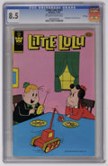 Modern Age (1980-Present):Humor, Little Lulu #261 File Copy (Whitman, 1980) CGC VF+ 8.5 Off-white towhite pages. Distributed in multi-packs only. Overstreet...