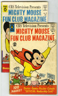 Golden Age (1938-1955):Cartoon Character, Mighty Mouse Fun Club Magazine #1 and 5 Group (20th Century Fox,1957-58). Group contains two Mighty Mouse Fun Club Magazi...(Total: 2)