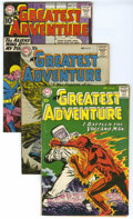 Silver Age (1956-1969):Adventure, My Greatest Adventure Group (DC, 1959-61) Condition: Average VG+. Group of three My Greatest Adventure books includes #3... (Total: 3)