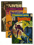 Silver Age (1956-1969):Adventure, Phantom Group (Harvey/Gold Key/King, 1958-67) Condition: Average VG. The Ghost Who Walks, one of comics' most enduring heroe... (Total: 5 Comic Books)