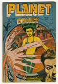 Golden Age (1938-1955):Science Fiction, Planet Comics #49 (Fiction House, 1947) Condition: FN-. Joe Doolincover. Murphy Anderson, Lily Renee, Joe Cavallo, George E...