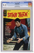 Silver Age (1956-1969):Science Fiction, Star Trek #6 File Copy (Gold Key, 1969) CGC NM- 9.2 Off-white towhite pages. Spock Photo cover. Alberto Giolitti and Giovan...