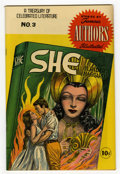 "Golden Age (1938-1955):Classics Illustrated, Stories by Famous Authors Illustrated #3 (Seaboard Pub., 1950)Condition: VF. Features the story ""She"" by H. Rider Haggard. ..."