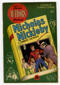 Golden Age (1938-1955):Classics Illustrated, Stories by Famous Authors Illustrated #9 (Seaboard Pub., 1951)Condition: FN. Nicholas Nickleby by Charles Dickens. Gus Schr...