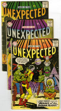 Silver Age (1956-1969):Horror, Tales of the Unexpected Group (DC, 1959-60) Condition: Average VG.Group of five Tales of the Unexpected comics contains... (Total: 5)