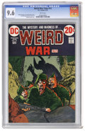 Bronze Age (1970-1979):War, Weird War Tales #12 (DC, 1973) CGC NM+ 9.6 White pages. Mike Kaluta cover. Tony DeZuniga and Gerry Talaoc art. Overstreet 20...