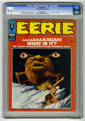 Magazines:Horror, Eerie #21 (Warren, 1969) CGC NM+ 9.6 Off-white pages. Steve Ditko, Jerry Grandenetti, Tom Sutton, Ernie Colon, Rocke Mastros...