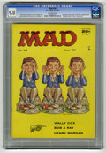 "Magazines:Mad, Mad #36 (EC, 1957) CGC VF/NM 9.0 Off-white pages. ""Gunfight at the O.K. Corral"" satire. Norman Mingo cover. Wally Wood, Basi..."