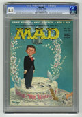 "Magazines:Mad, Mad #40 (EC, 1958) CGC VF+ 8.5 Off-white to white pages. ""Ripley'sBelieve It or Not"" parody by Ernie Kovacs. Andy Griffith ..."
