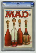 Magazines:Mad, Mad #42 (EC, 1958) CGC VF+ 8.5 Light tan to off-white pages. Kelly Freas cover. Wally Wood, Joe Orlando, Mort Drucker, Dave ...
