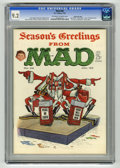 """Magazines:Mad, Mad #68 (EC, 1962) CGC NM- 9.2 Off-white to white pages. Don Martincover. Kelly Freas back cover. """"The Comic Strip Characte..."""