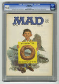 Magazines:Mad, Mad #90 (EC, 1964) CGC NM 9.4 Off-white pages. Norman Mingo cover.Frank Frazetta back cover of Ringo Starr. Beatles appeara...