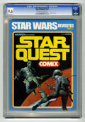 Magazines:Science-Fiction, Star Quest Comix #1 (Warren, 1978) CGC NM+ 9.6 Off-white to whitepages. Ken Kelly cover. Esteban Maroto and Richard Corben ...