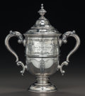 Silver Holloware, American:Loving Cup, A REED & BARTON SILVER COVERED CUP: IN MEMORY OF JOHN PHILIPSOUSA, 1854-1932, Taunton, Massachusetts, circa 193...